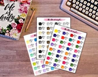 Functional Garden Time Stickers, Functional Planner Sticker, Garden Sticker