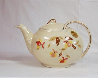 Autumn Leaf Hall China Specialties teapot 1994 limited edition