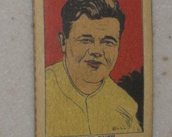 1923 515-1 Babe Ruth Strip Card