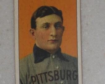 1909/10 T206 Honus Wagner Old Mill Cigarettes Back