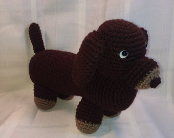 Wiener dog toy