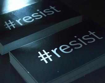 Original #resist bumper sticker