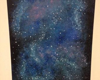 Galaxy Painting (Acrylic on canvas)