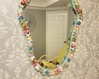 Whimsical Vintage Mirror