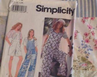 Simplicity 8849 Overalls Sizes L/XL