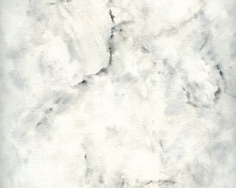 Marble Study a digital download of an original watercolor painting on paper