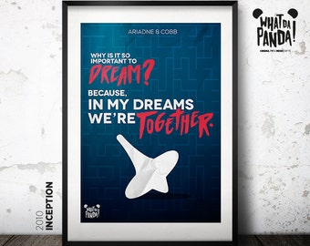 Inception - Why is it so important to dream? Because in my dreams we're together