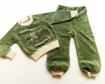 1Y JoggIng PaNts BaBy 70's VinTage ReTro oldschool HiPster 70s NiCki trousers 62/68