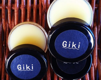 Giki Sandalwood Solid Perfume Handmade in Hawaii All Natural Free Shipping