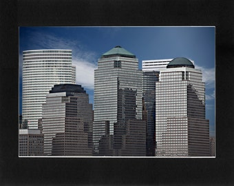 """Custom Matted Print 0107. """"NYC Abstract"""" - Collectable Photographic Artwork. (11"""" x 14"""")"""