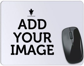 Make Your Own Mouse Pad - Customized Mouse Pad Add Photo Print Text Logo Picture - Custom Photo Mouse Pad - Personalized Office Gift