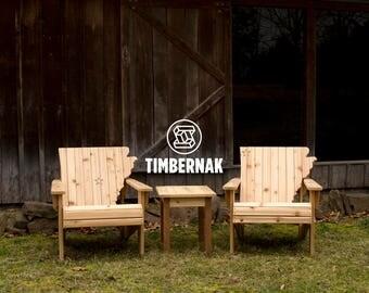 Ozark Chair Patio Set