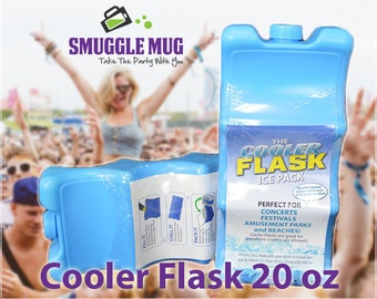Cooler Flask™ 20oz Hidden Flask by Smuggle Mug. Take the party with you! Free Shipping!