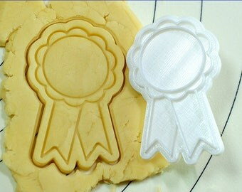 Celebration Ribbon Cookie Cutter and Stamp