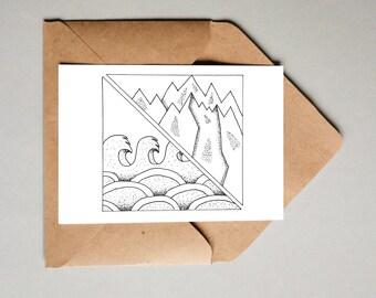 Postcard Summer - Winter