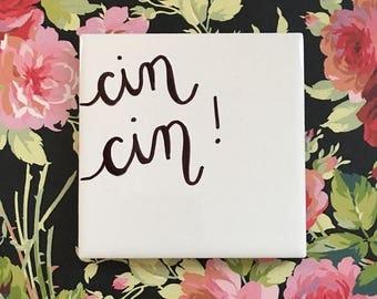 Cin Cin - Cheers Coaster