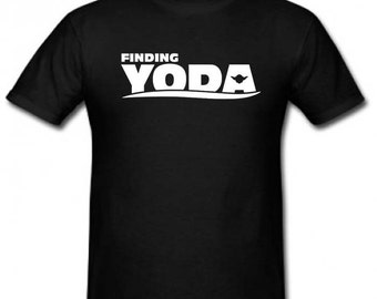 "Boys ""Finding Yoda"" Star Wars Disney Kids Shirt"