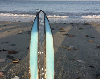 Stained glass surf board