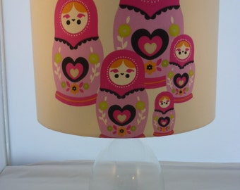 Russian Dolls Contemporary Lampshade