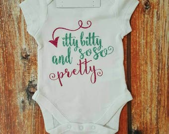 Baby Girl Clothes, Itty Bitty And So So Pretty Bodysuit