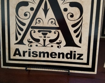 Personalized Ceramic Tile