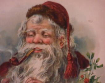 Old World Santa Print