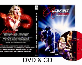 Reinvention Tour DVD & CD Deluxe Package - Madonna