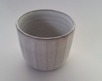 Faceted cup.