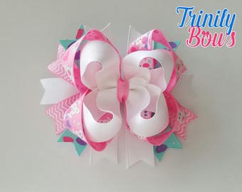 Bunny and Bows - Easter - Spring - TBB - Twisted Boutique - Bunny - Bows- Pink