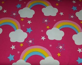 Cotton Jersey Cloud Rider Rainbow