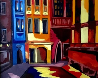 Around the Corner, Color