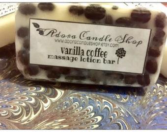 Vanilla Coffee massage lotion bar