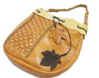 Java Shoulder Bag with Batik Lining