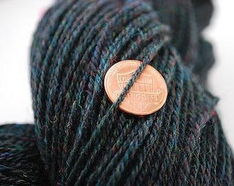 Handspun Chain-plied Colonial Wool Yarn