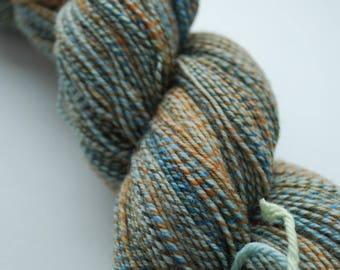 Handspun Three-ply Superwash Merino Sock Yarn