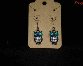 What A 'Hoo' earrings