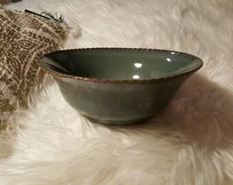 Medium Sized Pottery Bowl