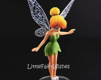 Tinkerbell standing cake topper figurine fairy garden decoration