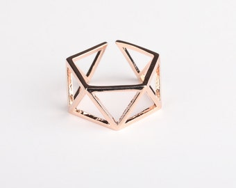 Heidi Ring Rose Gold