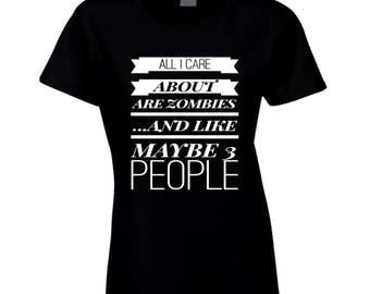 Zombie Fans Lover T-shirt