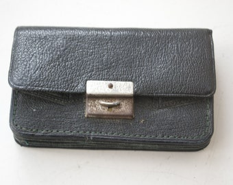 Vintage Retro Ladies Leather Purse 1930's Great Vintage Condition