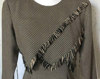 Vintage Expo Petite Business Casual Tweed Dress