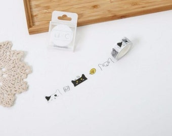 Lovecats Doodles Washi Tape