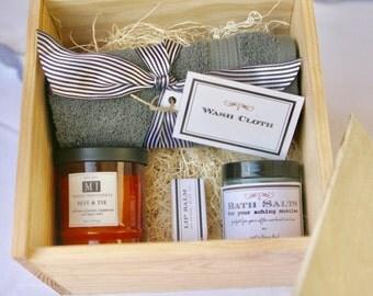 Men's Spa Gift Box - Valentine's Day - Anniversary - Birthday - Teacher