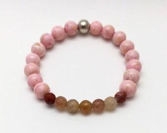 wife statement gift, wife jewelry idea, christmas gifts 2018, boho jewelry wife, layering bracelet, boho gift girlfriend, personalized gift,