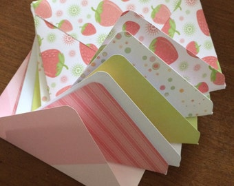 Five Assorted Envelopes- 4inx6in