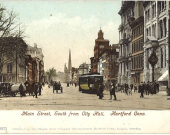 Magnet, Hartford Street Scene