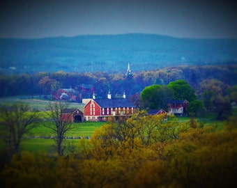 Gettysburg Pennsylvania/View from Little Round Top