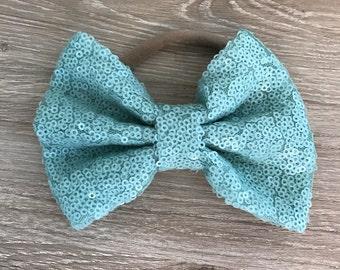 Clearance Mint bow