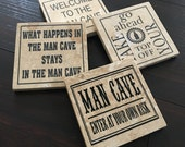 Ceramic Coasters set of (4)
